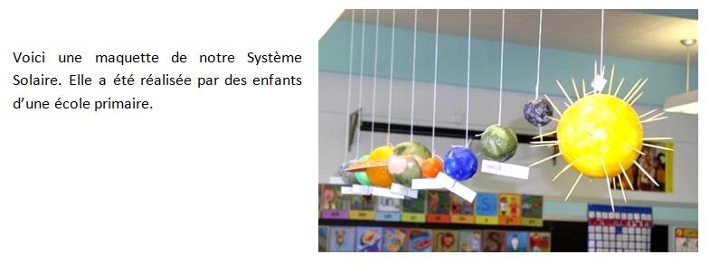 maquette solaire